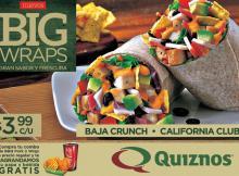 BIG wraps by quiznos