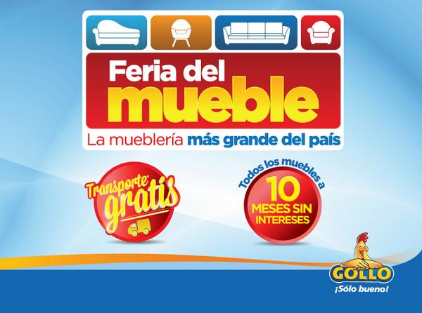 Feria del Muebles costa rica GOLLO tiendas -  06sep14