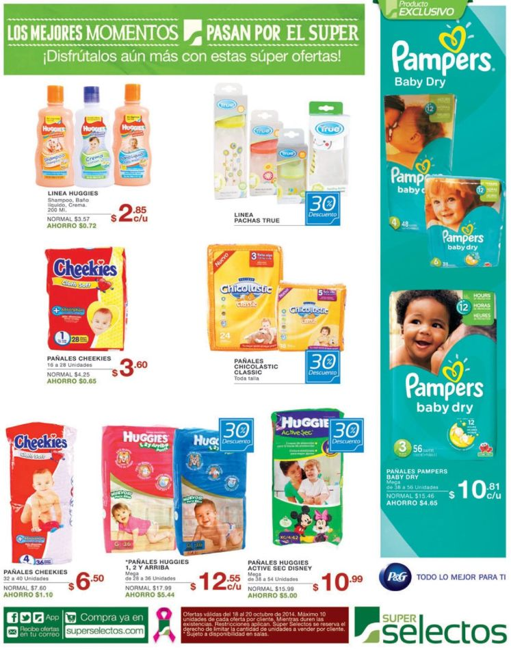 BABY products savings week end - 18oct14