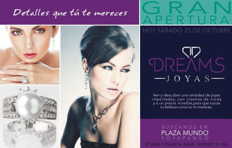 DREAM jewelry new store PLAZA MUNDO - 25oct14