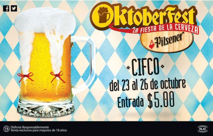 Donde sera la fiesta de la cerveza 2014 OKTOBERFEST el salvador