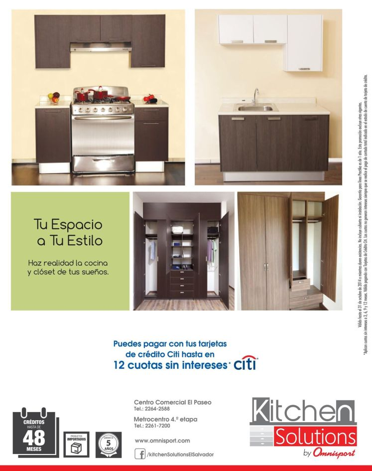 Omnisport promotions KITCHEN style solutions decorating - 24oct14