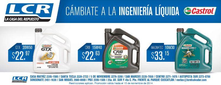 CASTROL Aceite de calidad para tu auto - 05nov14