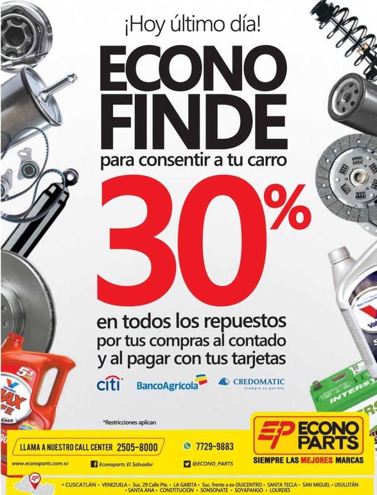 ECONO Finde precios bajos - 29nov14