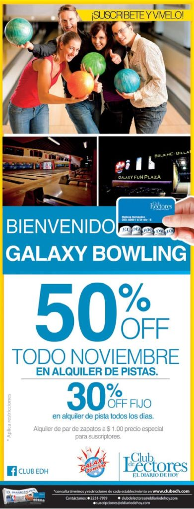 GALAXY bowling promotion family - 21nov14