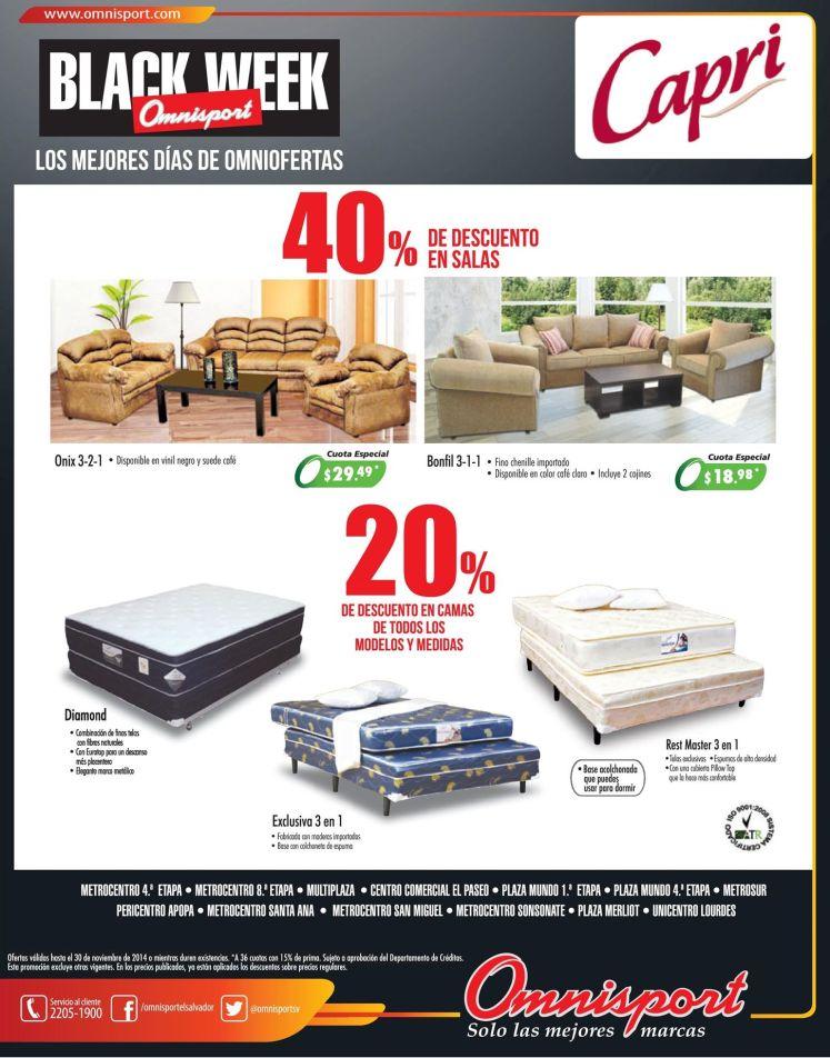 Omnisport camas ofertas black friday - 28nov14