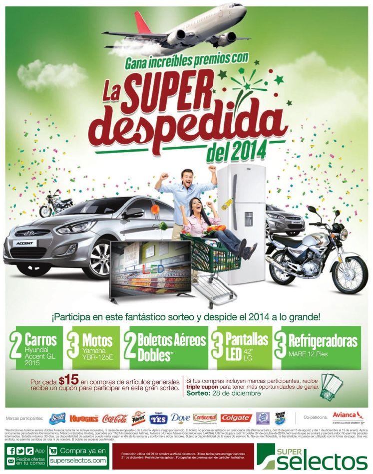 Premios super selectos la despedida 2014