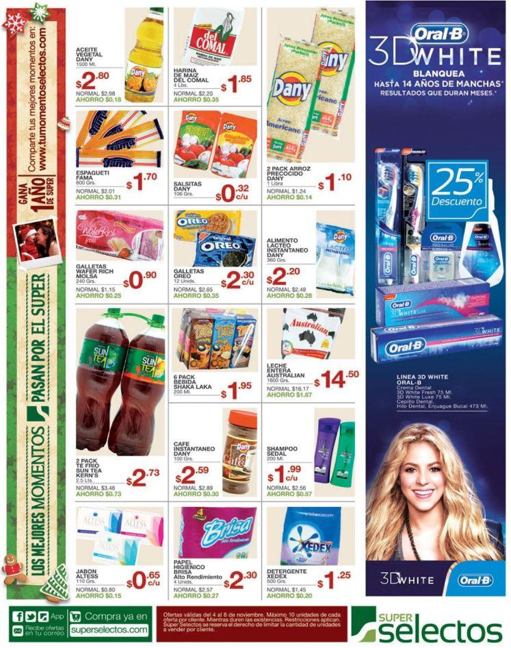 SUPER SELECTOS Compra en linea accesorios navideños - 04nov14