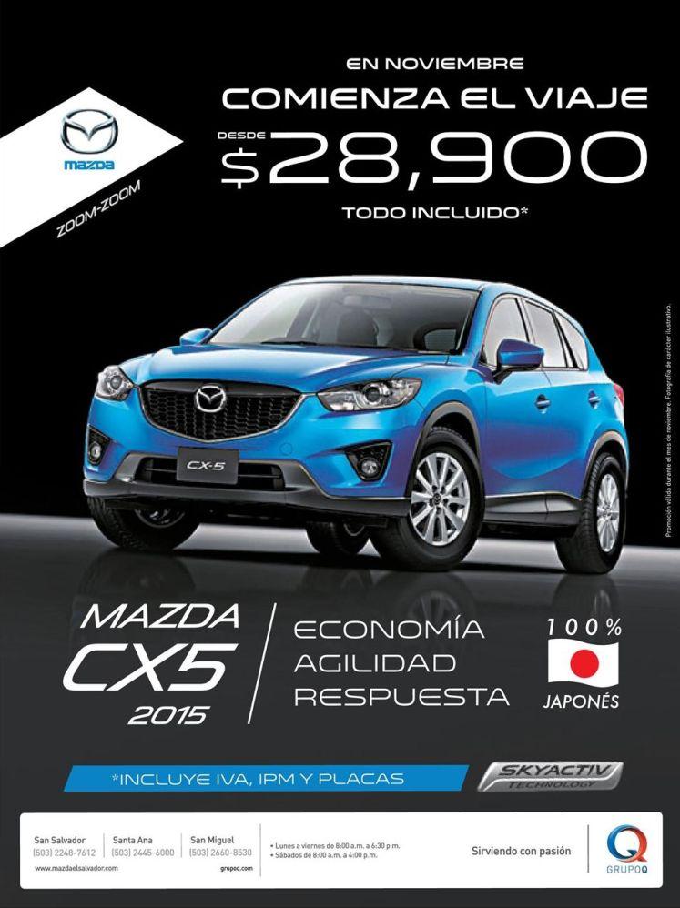 new MAZDAS CX5 2015 economy