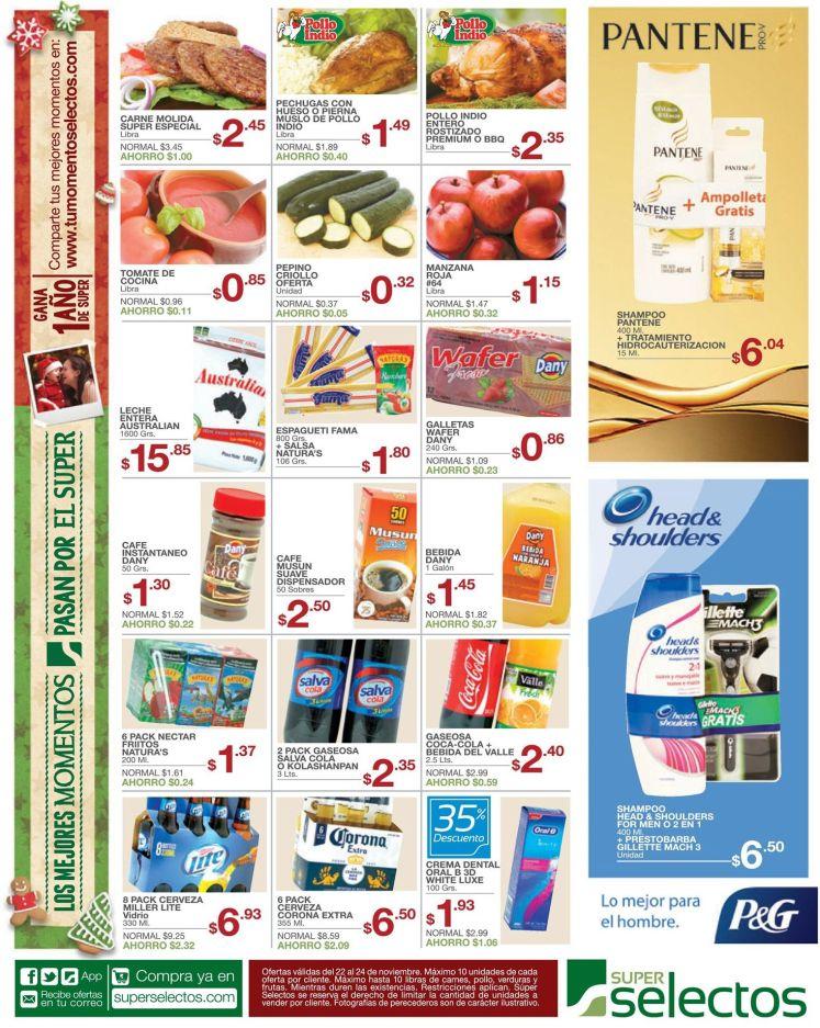 promociones super selectos shampoo - 22nov14