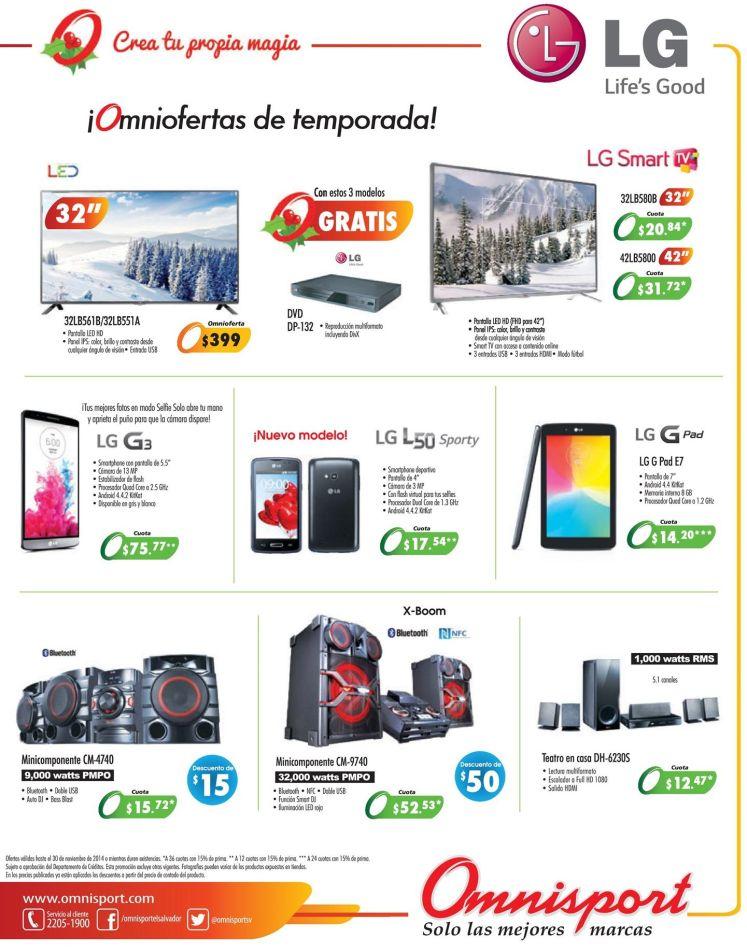 smartphones LG ofertas omnisport - 20nov14