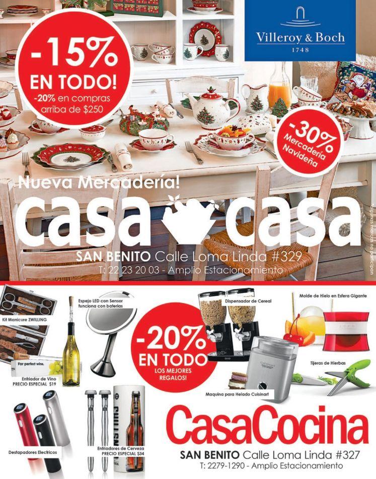 Casa Cocina descuentos para decorar tu mesas en estas fiestas - 17dic14