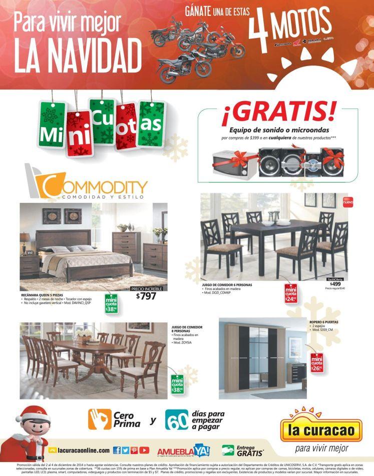 Promociones para vivir la navida con LA CURACAO - 02dic14