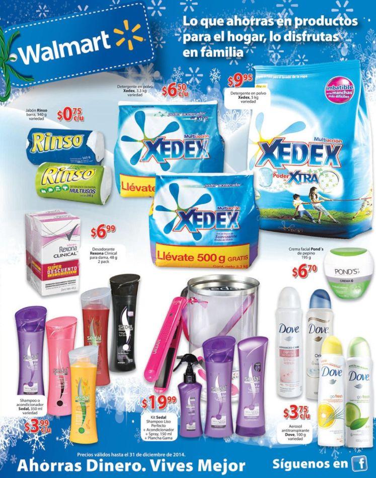 WALMART  productos de limpieza en promocion - 19dic14