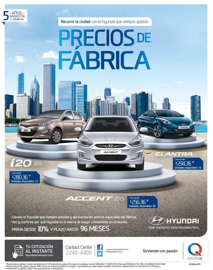carros HYUNDAI  elantran ACCENT i10 2015