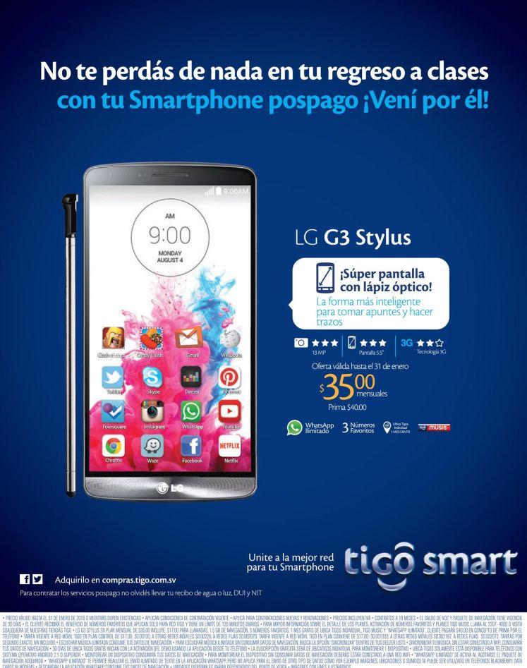 smartphone stylus LG G3 with optin pen