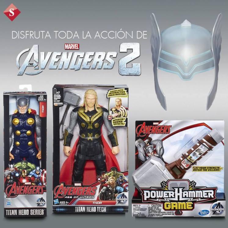THe avengers 2 COSTUME thor