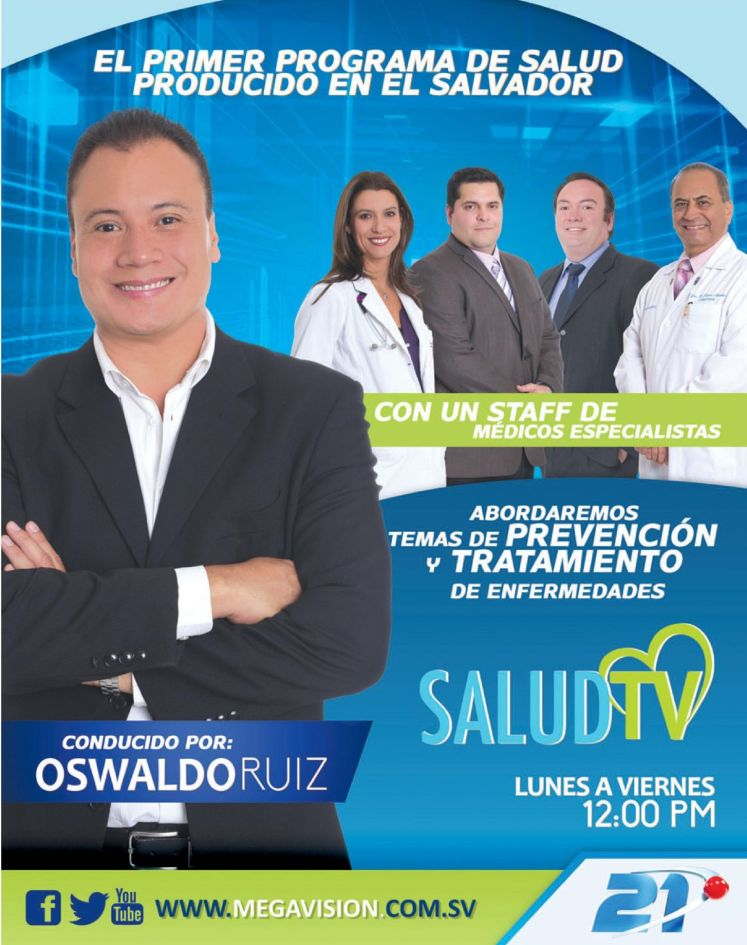 prevencion de enfermedades SALUD TV megavision el salvador