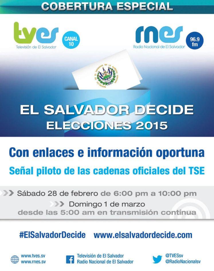 special coverage elecciones 2015 el salvador