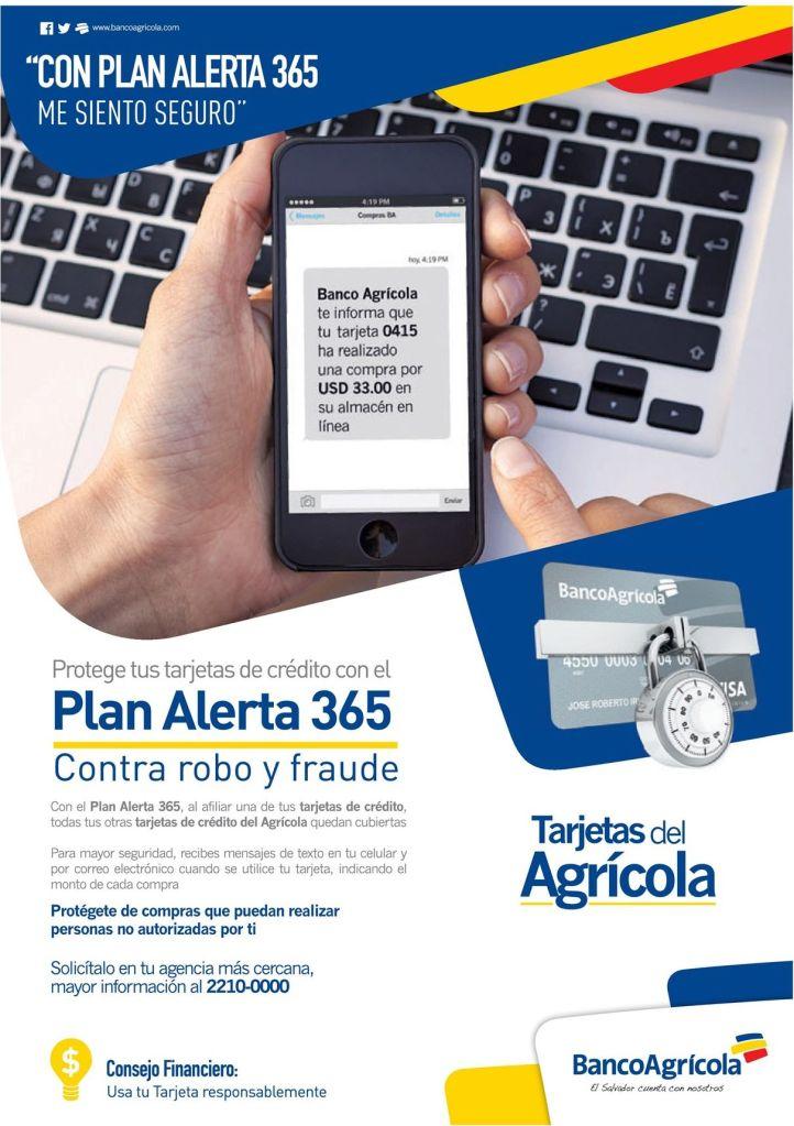 Como alertarte ante robo y fraude de tus tarjetas de credito del agricola