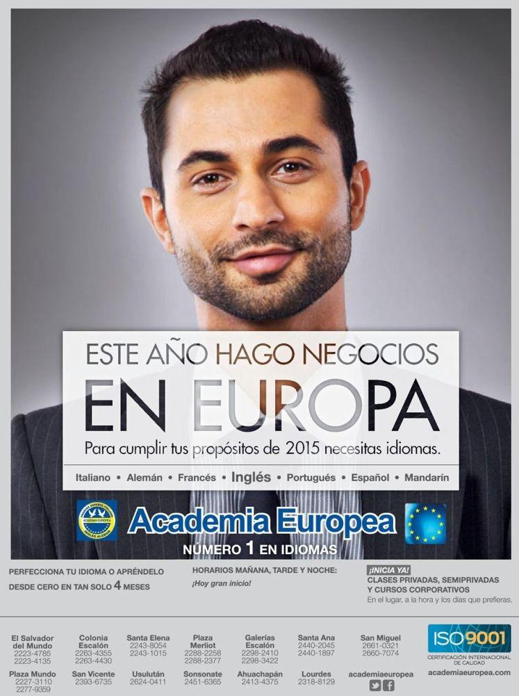 Para hacer negocios en europa necesitas aprender un nuevo idioma