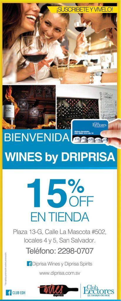 WINES by Diprisa el salvador descuentos - 07mar15