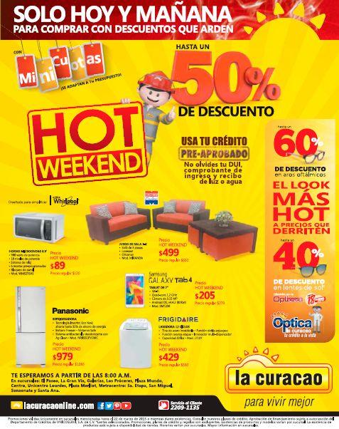 muebles y electrodomesticos con descuentos en el hot weekend - 21mar15