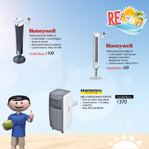 HONEYWELL fan system for home