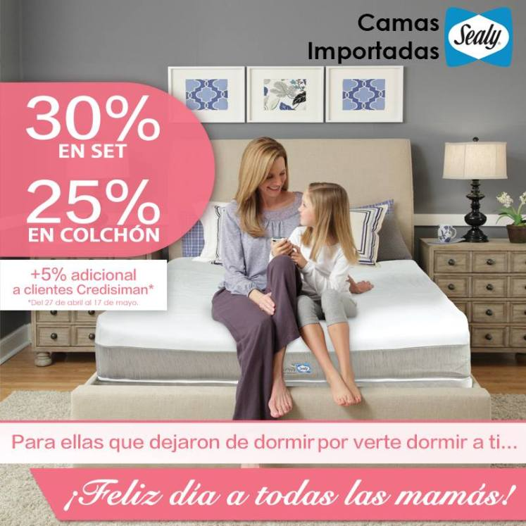 SEALLY beds premium rest for MOM