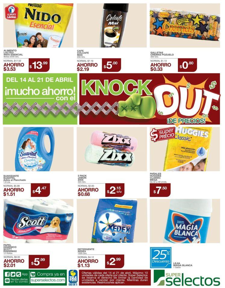 super selectos ofertas de la semana con mucho ahorro - 14abr15