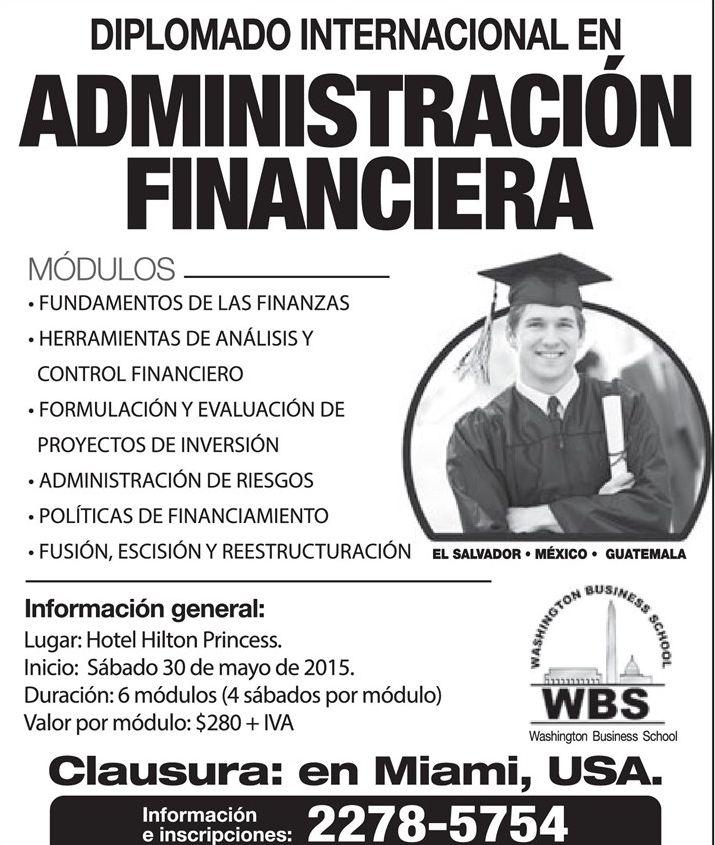 international financial course MIAMI usa