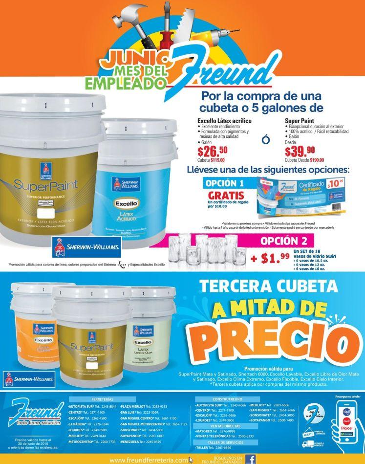 MIRA las ofertas y promociones de FREUND en el mes de junio 2015
