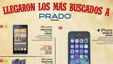 PRADO ofertas de celulares android y iphone