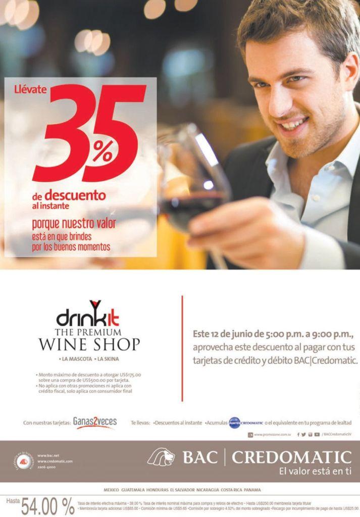 The Premium WINE SHOP  35 OFF esta noche - 12jun15