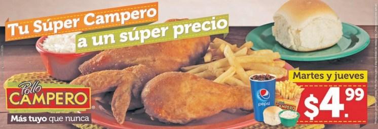 Ahora aprovecha esta ofertas de menu pollo campero - 21jul15