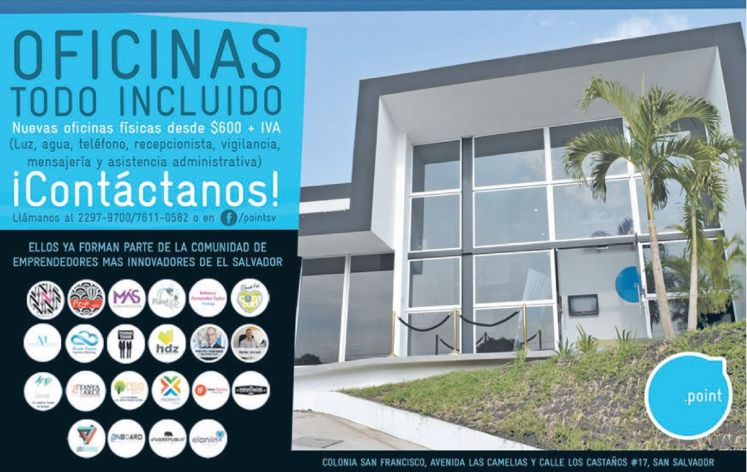 All inclusive OFFICE point san salvador