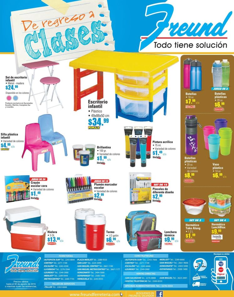 FREUND lindos productos para tu regreso a clases - 07ago15