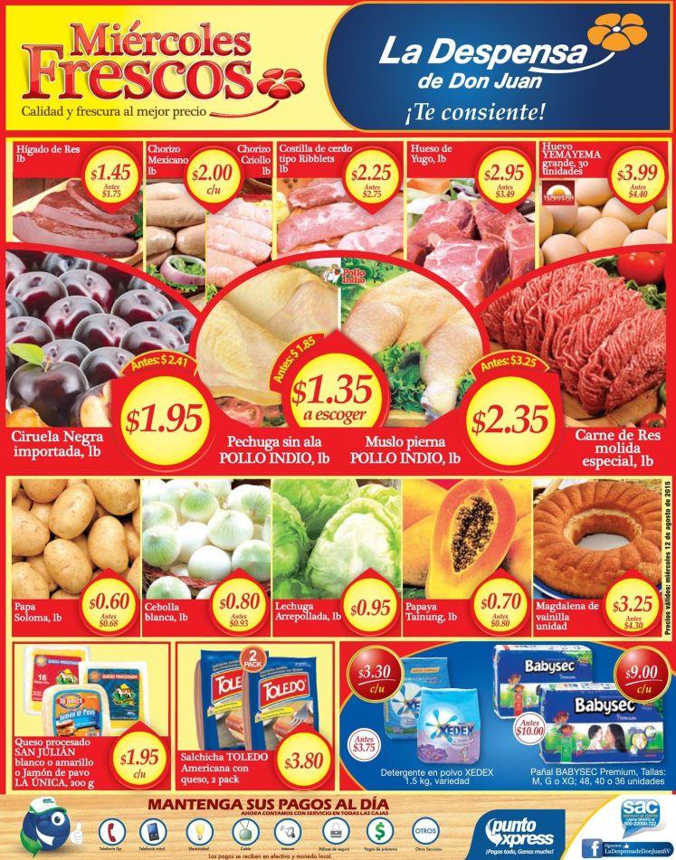 Los miercoles son para comprar en la despensa de don juan - 12ago15