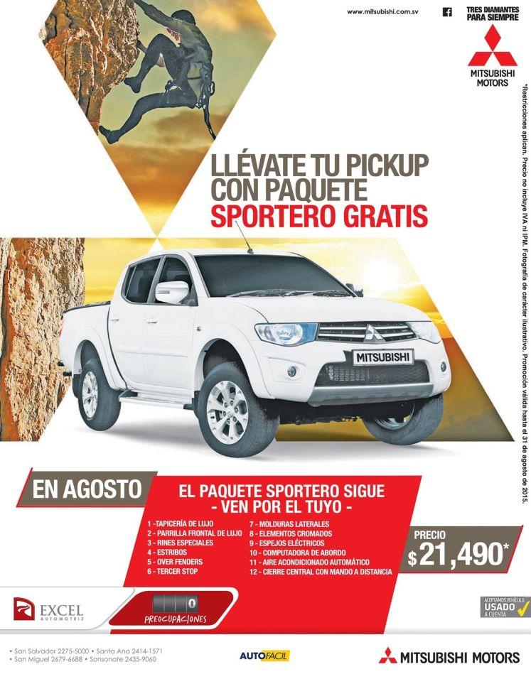 Mitsubishi Sport con KIT adventure gratis
