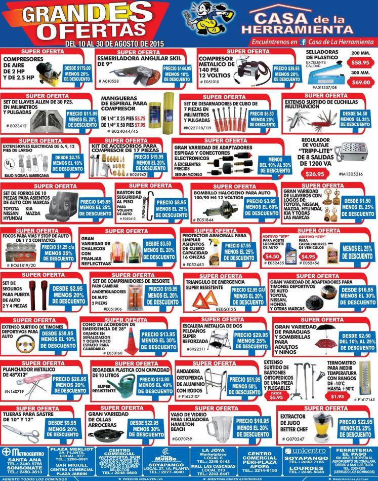 Visita la casa de la herraminetas ofertas agosto 2015