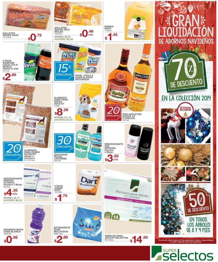 ATENCION gran liquidacion de 70 OFF en productos de navidad - 19sep15