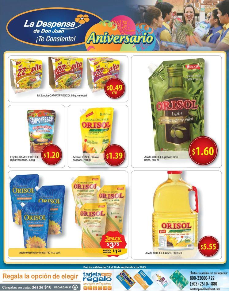 Inicia la semana con las compras de la despensa de don juan - 14sepo15