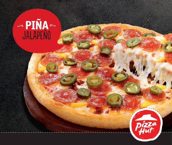 PINA JALAPENO nueva pizza hut