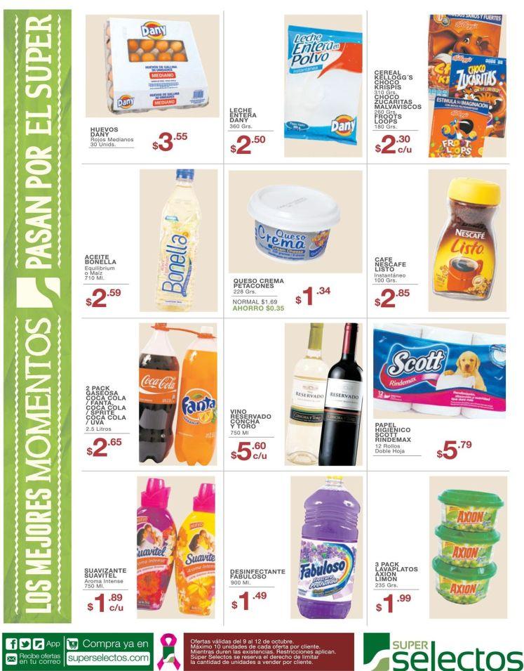 Aqui las ofertas del dia gracias a super selectos - 09oct15