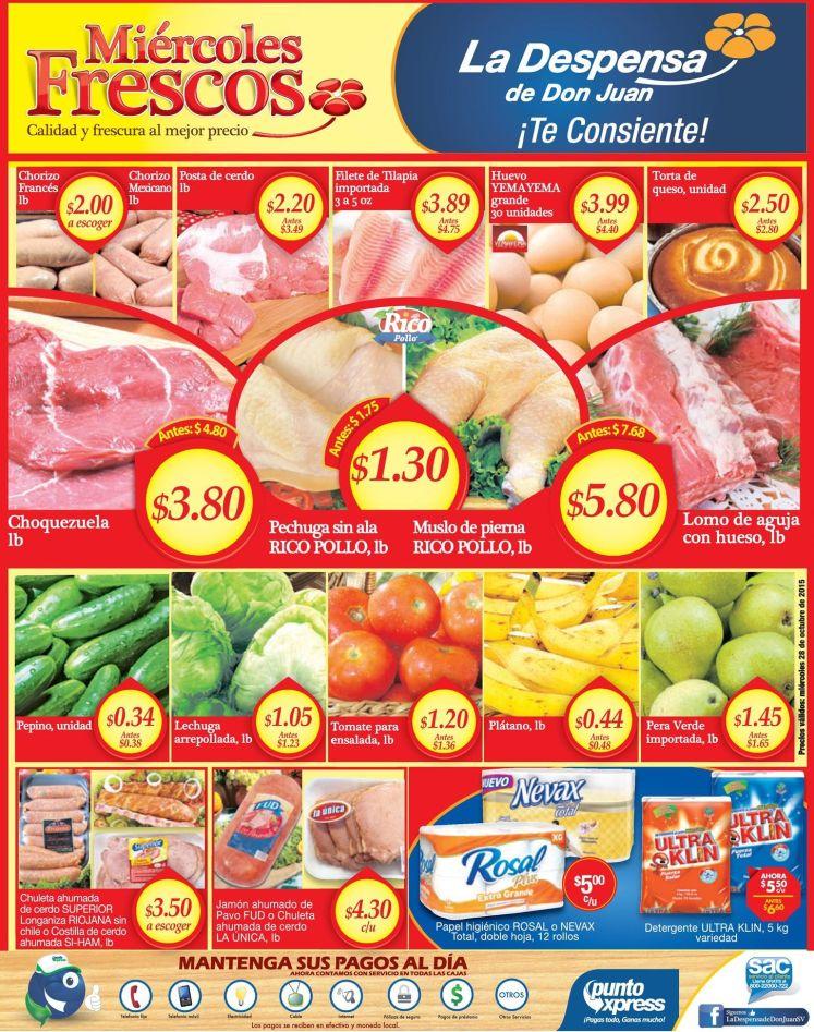 Frutas de Verduras para tu alacena al buen precio de la despensa - 28oct15