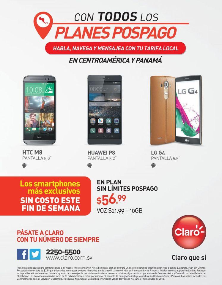 HTC M8 smartphone ofertas via CLARO