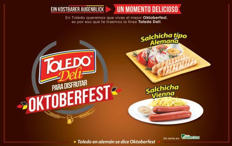Oktoberfest TOLEDO delicatesen salchica alemana