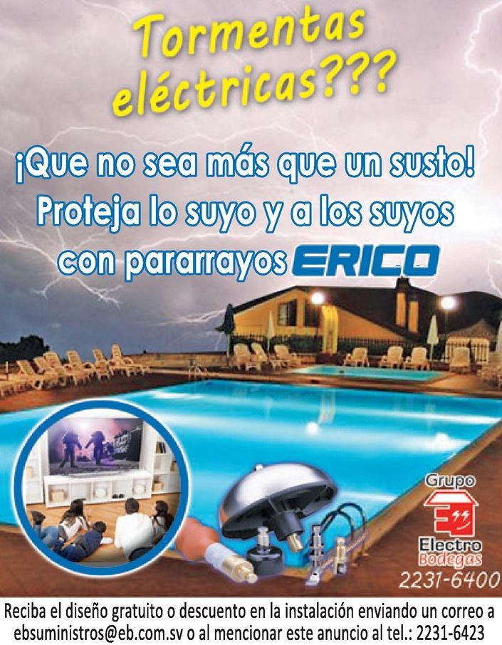 Tormenta electricas protege tus equipos electricos con ERICO