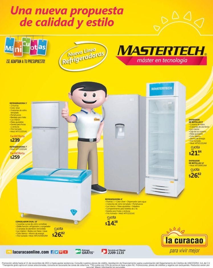ven a conocer a LA CURACAO la nueva lines en tecnologia de refrigeracion
