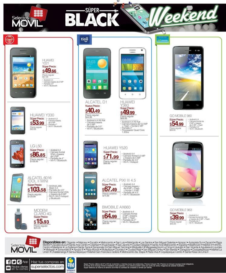 Busca celulares a buen precio en SELECTOS MOVIL - 27nov15